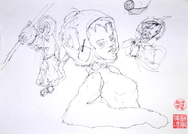 Odys S. Stylianos, Ink 0001, 21.0 x 29.7 cm
